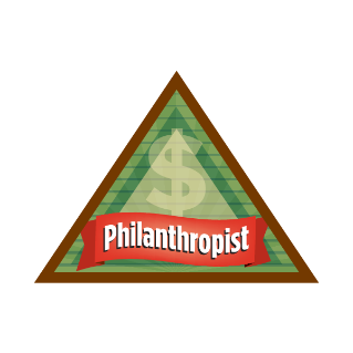 how to find a philanthropist