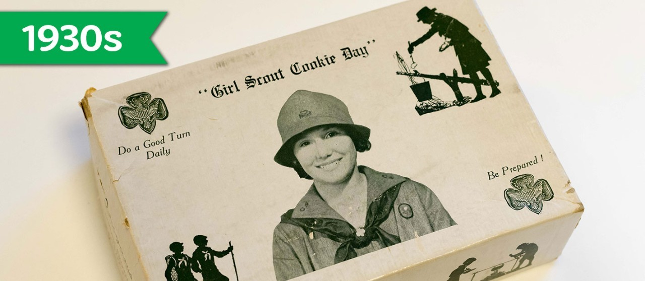 Girl Scout Cookie History - 1930s