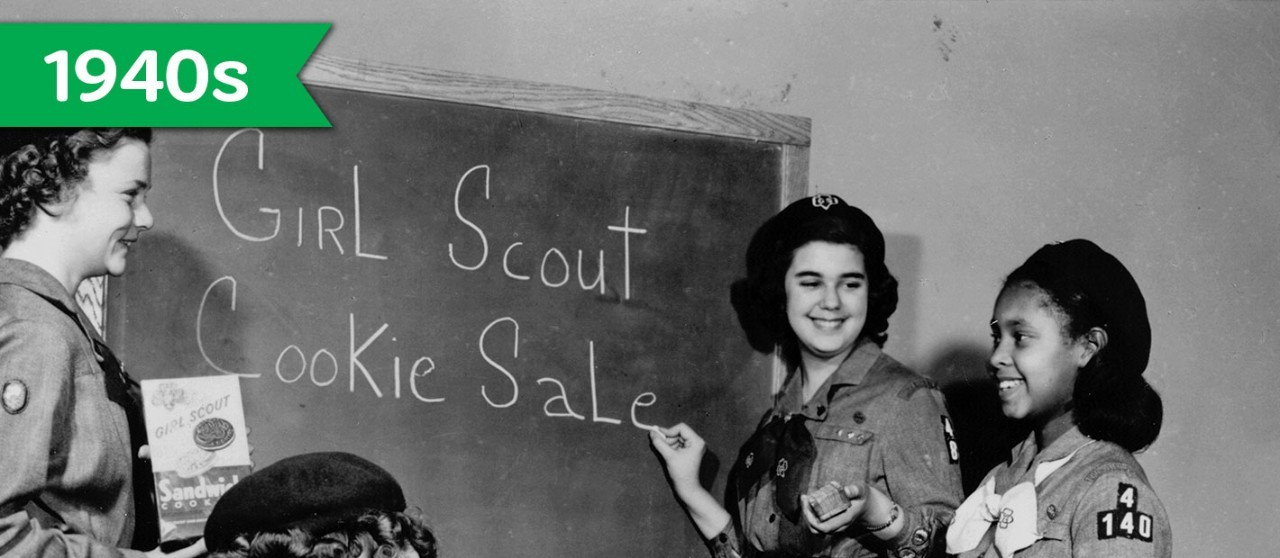 Girl Scout Cookie History - 1940s