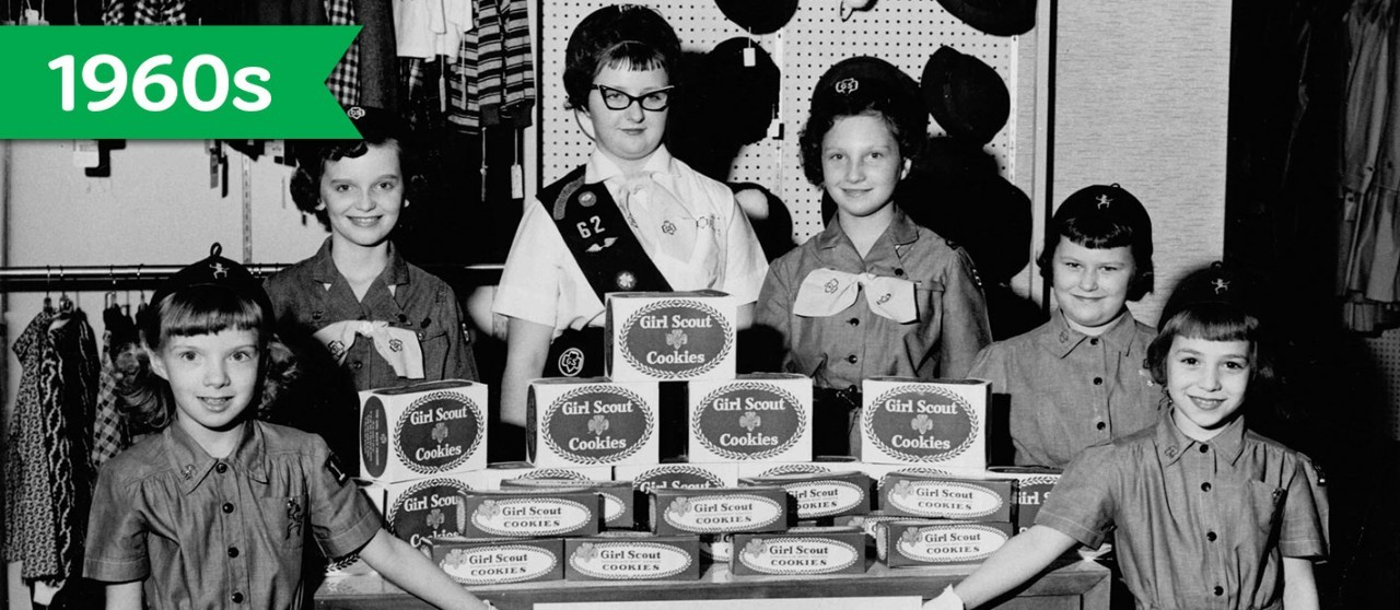 Girl Scout Cookie History - 1960s