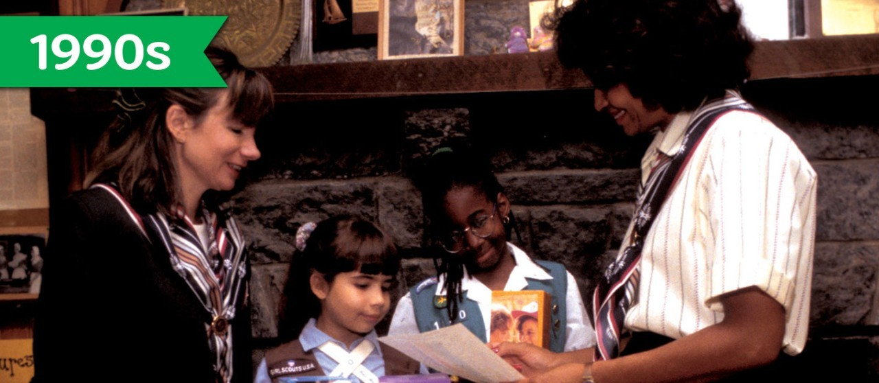 Girl Scout Cookie History - 1990s