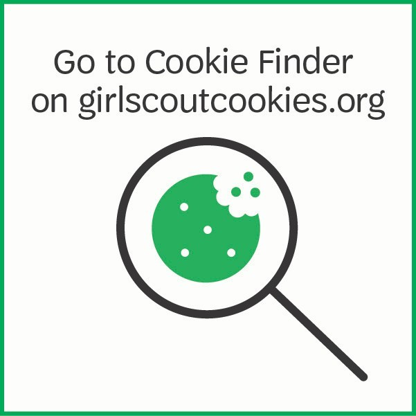 Go to Cookie Finder on girlscoutcookies.org