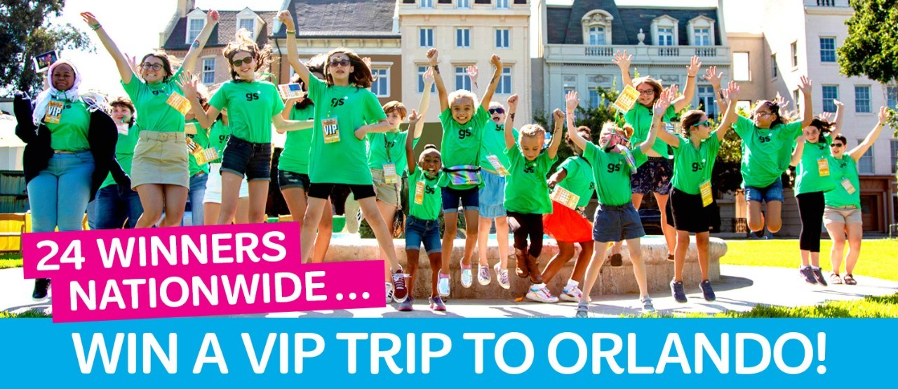 Win a VIP Trip to Orlando by Entering Girl Scouts Cookie Pro Contest