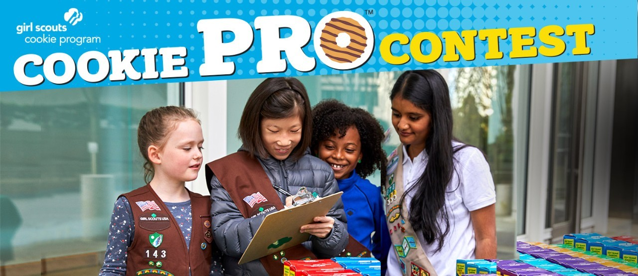 Calling all Girls for Cookie Pro 2020 Contest