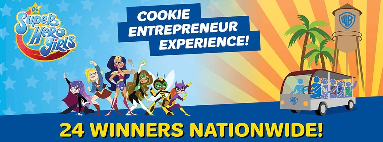 Cookie entrepreneur experience 24 winners nationwide!
