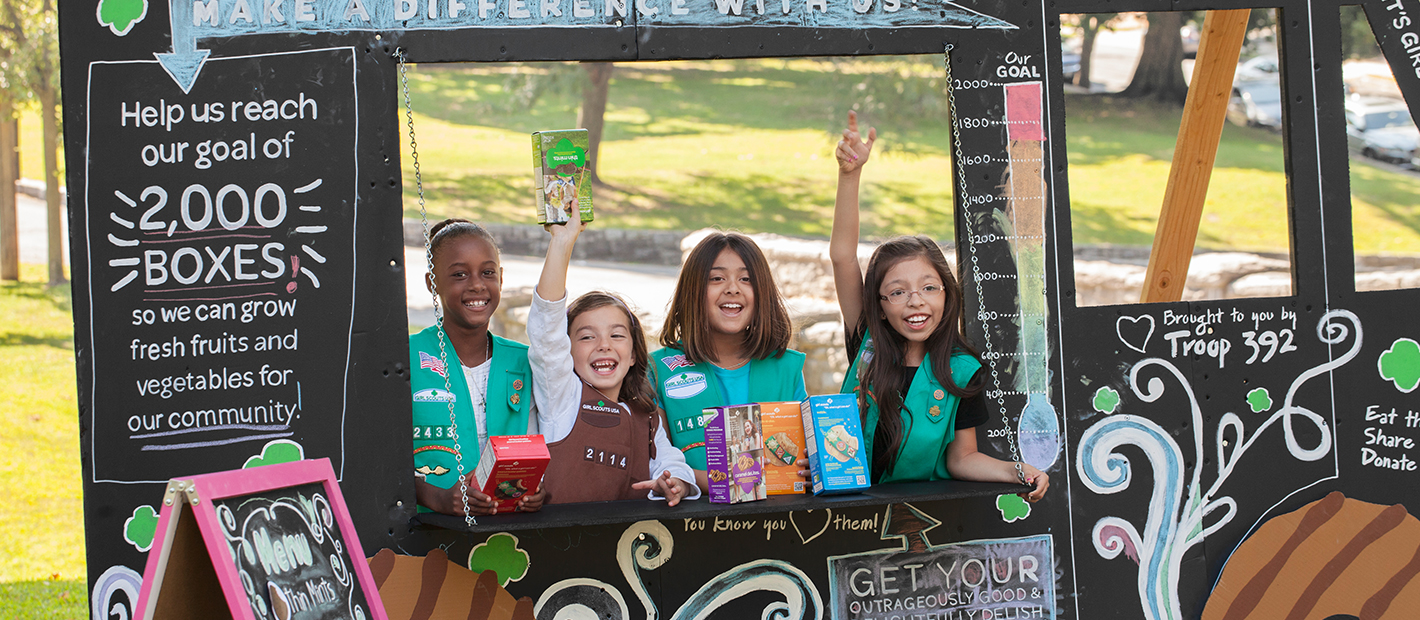 just for cookie sellers   girl scout cookies