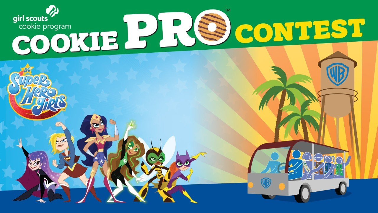 The 24 Cookie Pro™ contest winners will partake in the ambition-building Cookie Entrepreneurship Experience, featuring a DC Super Hero Girls experience at Warner Bros. Studios in California. To learn more about the 2019 Cookie Pro Contest, visit www.girlscouts.org/cookiepro.To join, visit www.girlscouts.org.