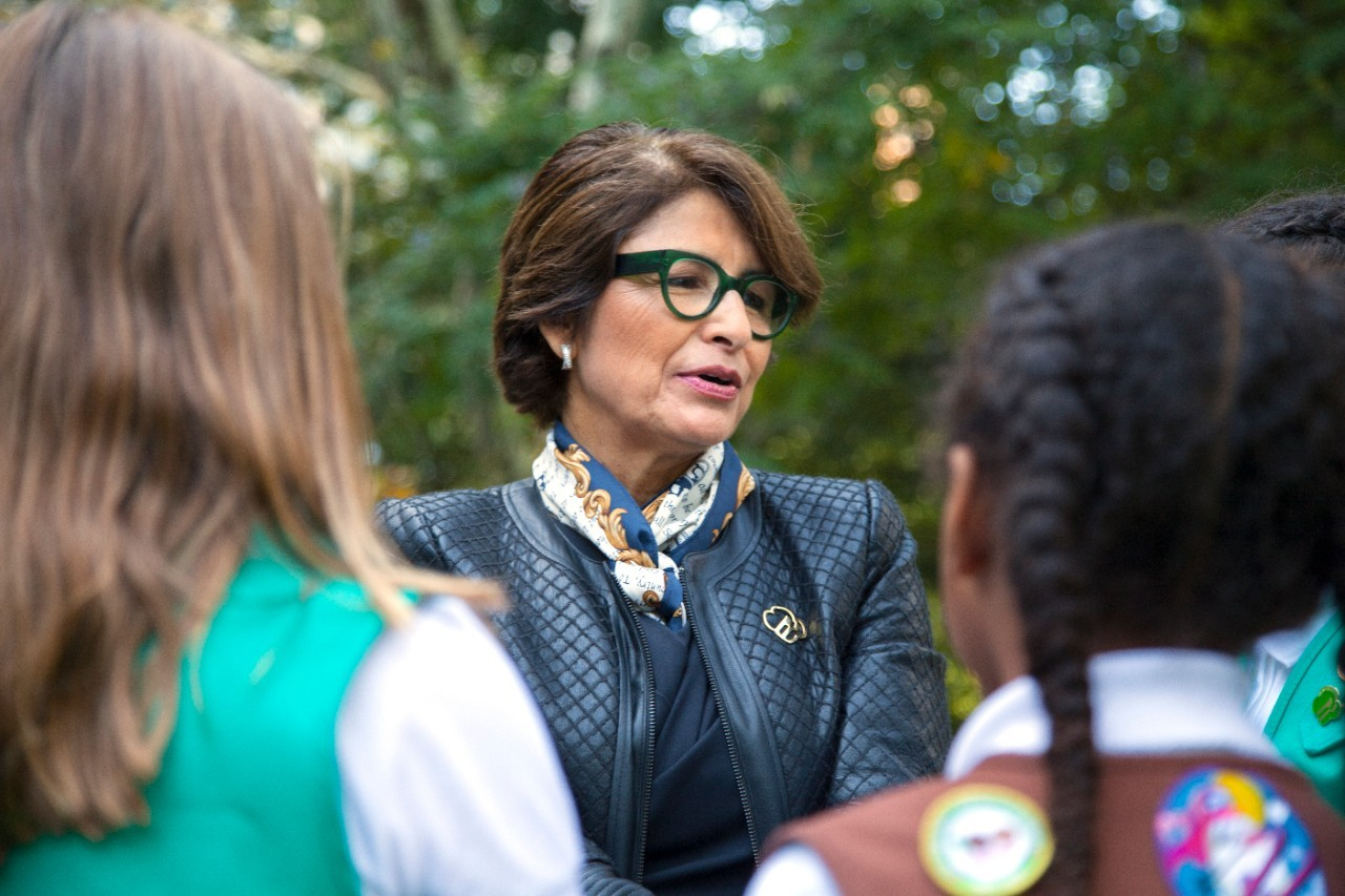 Sylvia Acevedo, Girl Scouts of the USA CEO, named one of Fast Company's 100 Most Creative People in Business.
