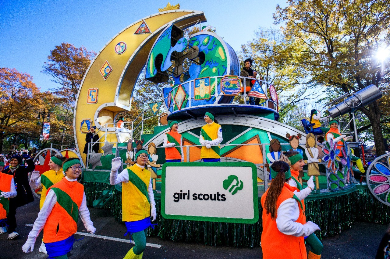 Rising pop-country star and teen activist Tegan Marie will perform on the Girl Scout Float in the 92nd Annual Macy's Thanksgiving Day Parade, celebrating girls building a better world through STEM. To learn more or join, visit www.girlscouts.org.
