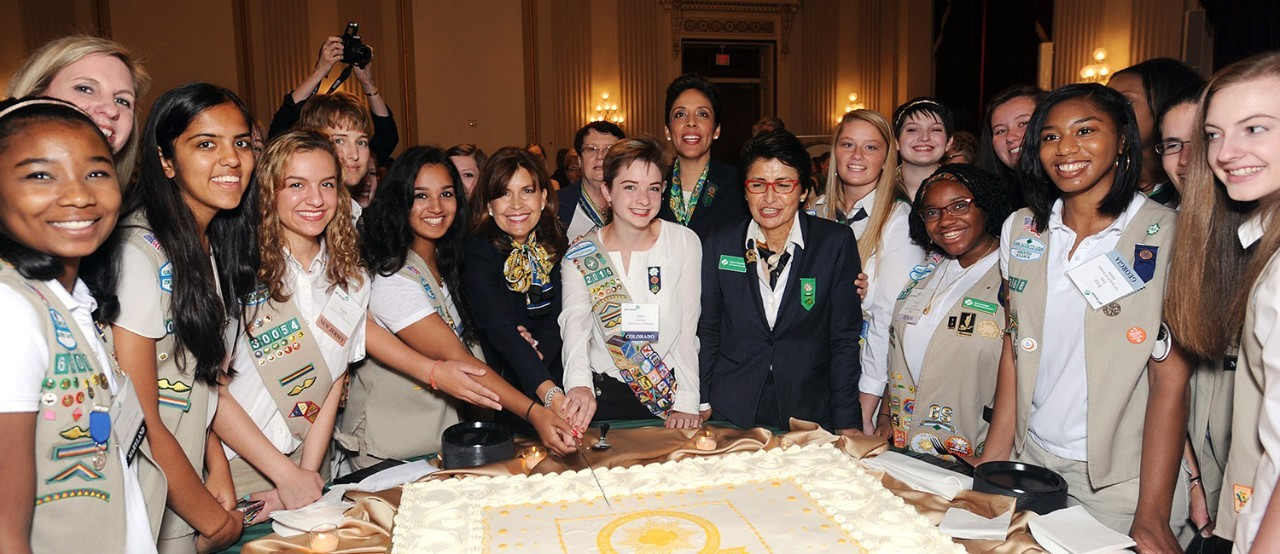 Girl Scouts Celebrates on Capitol Hill 100 Years of Girls Changing the World