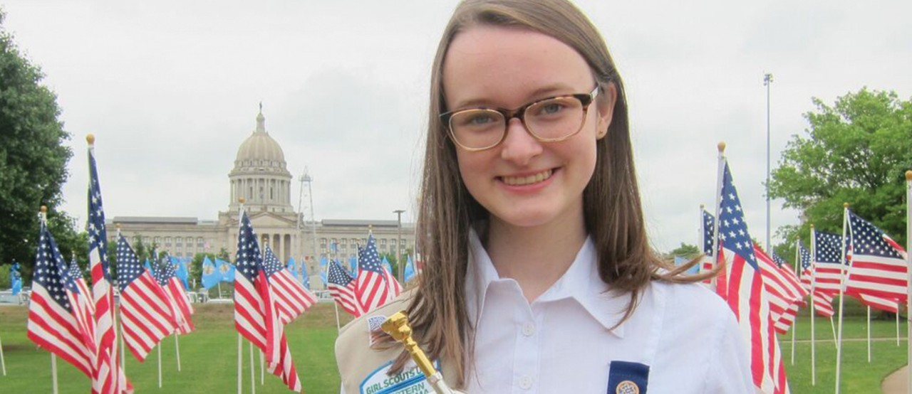 "Katie Prior of Girl Scouts of Western Oklahoma is a ""Champion of Change"""