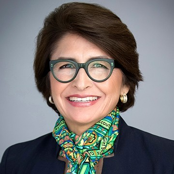 Girl Scouts of the USA CEO, Sylvia Acevedo