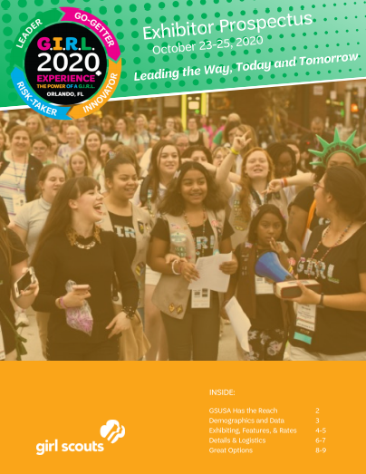 G.I.R.L. 2020 - Exhibitor Prospectus - DOWNLOAD NOW