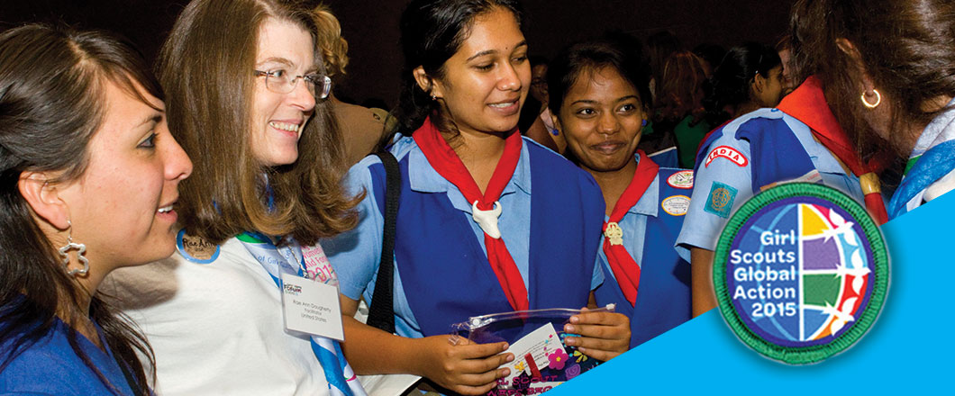 global action award girl scouts