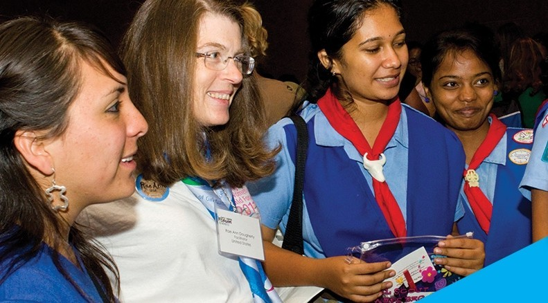 Girl Scouts earn their Global Action Award