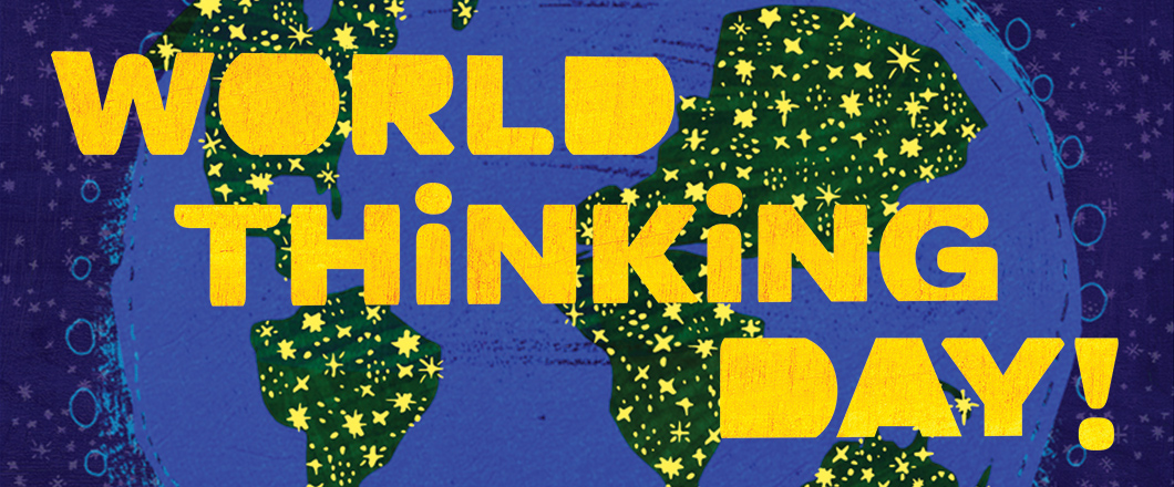 world thinking day   girl scouts