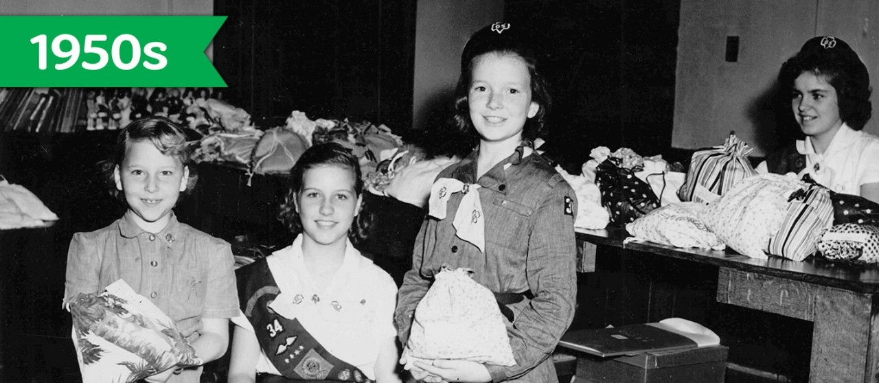 Girl Scouts in the 1950s