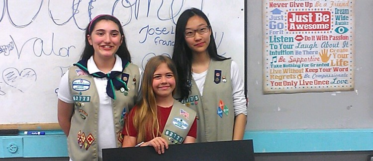 Meet the Girl Scout Cadettes who created a successful cultural exchange program