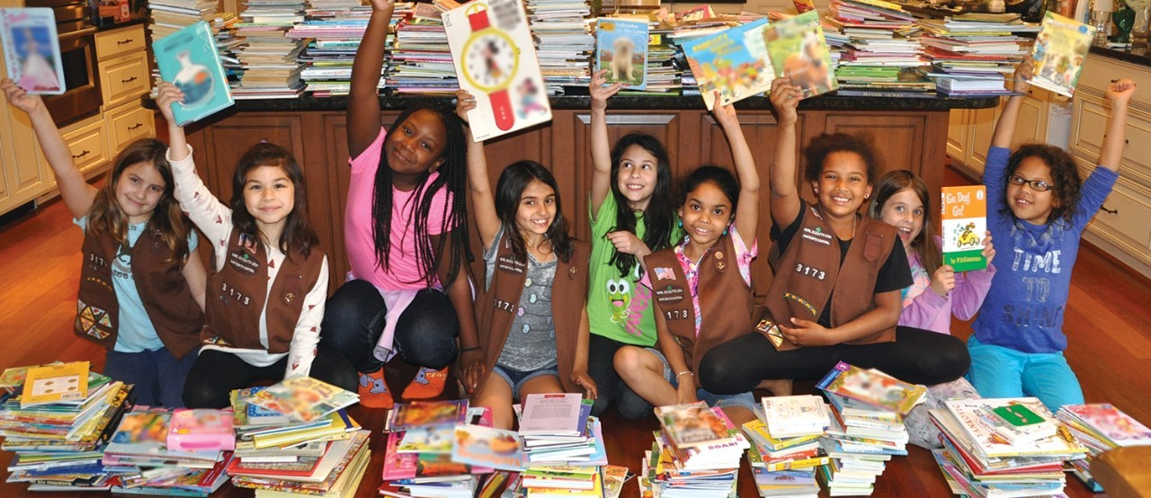 CH-GS-A-Troop Book Drive