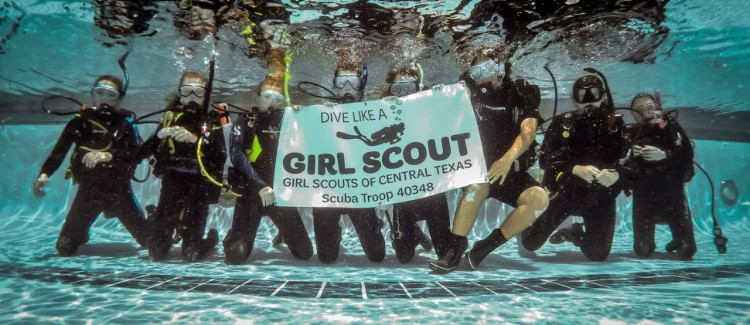 The Nation's First Scuba Troop Takes Girl Scouting to New Depths
