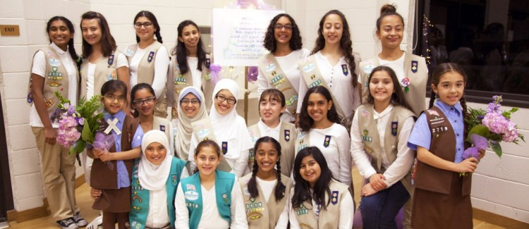 Girl Scouts host Ramadan Iftar for refugees