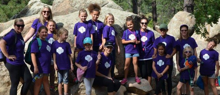 Sarah and her troop enjoy a day of so-Girl-Scouts outdoor adventure!
