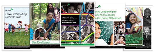Photo montage: Studies About Girls in the United States