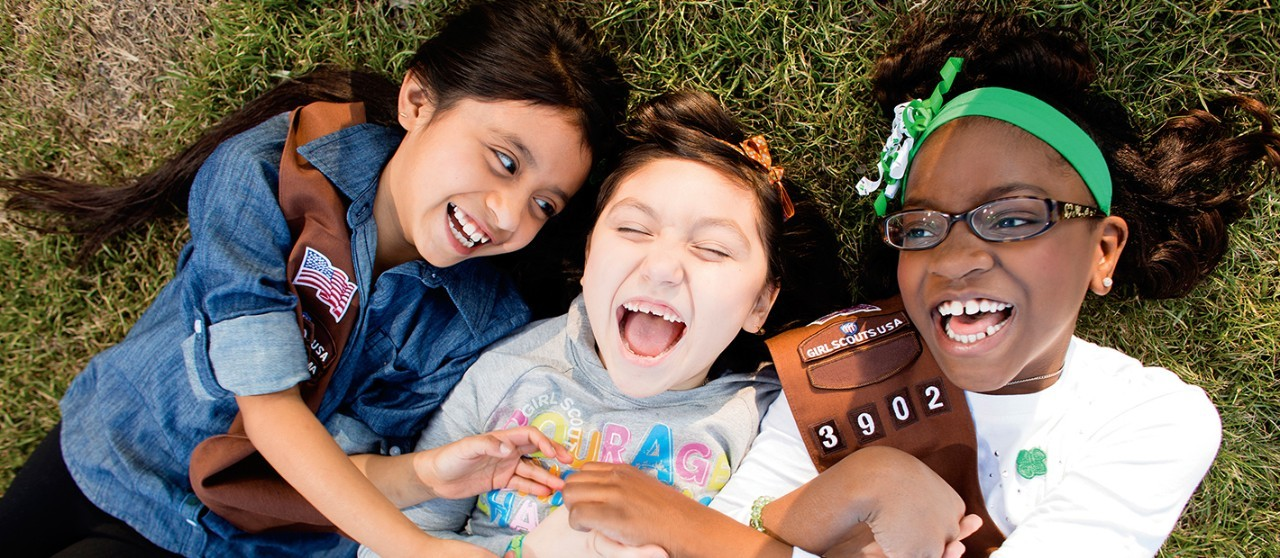 Girl Scouts have fun and make lifelong friends