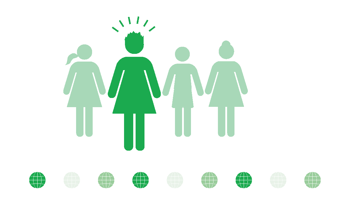 Gender Parity Infographic