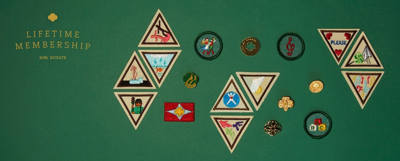 LIFETIME MEMBERSHIP - Girl Scouts