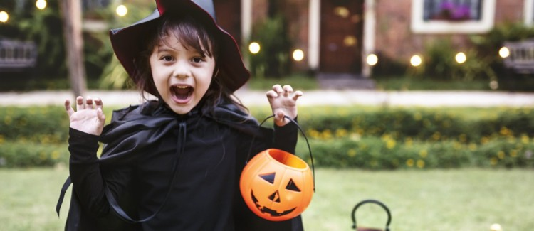 The Simple Secret To Her Best Halloween Yet