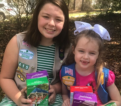 Girl Scouts band together to think outside the cookie box.