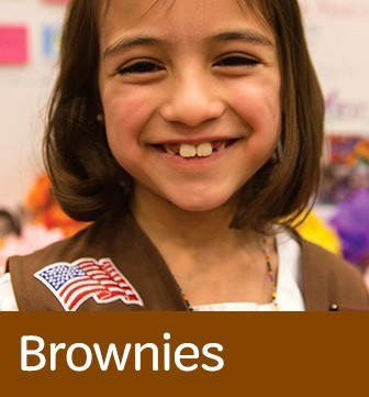 Learn more about Girl Scout Brownies (Grades 2-3)