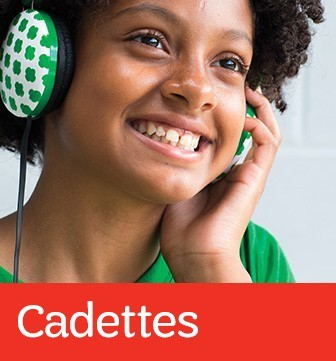 Learn more about Girl Scout Cadettes (Grades 6-8)