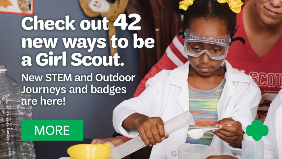 Girl Scouts Building Girls of Courage, Confidence, and