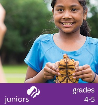 Learn more about Girl Scout Juniors (Grades 4-5)