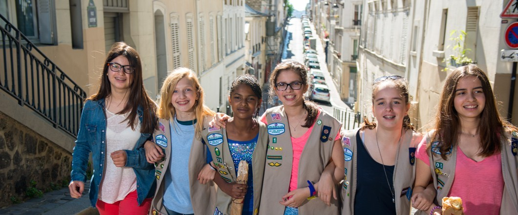 Girl Scouts explore the world
