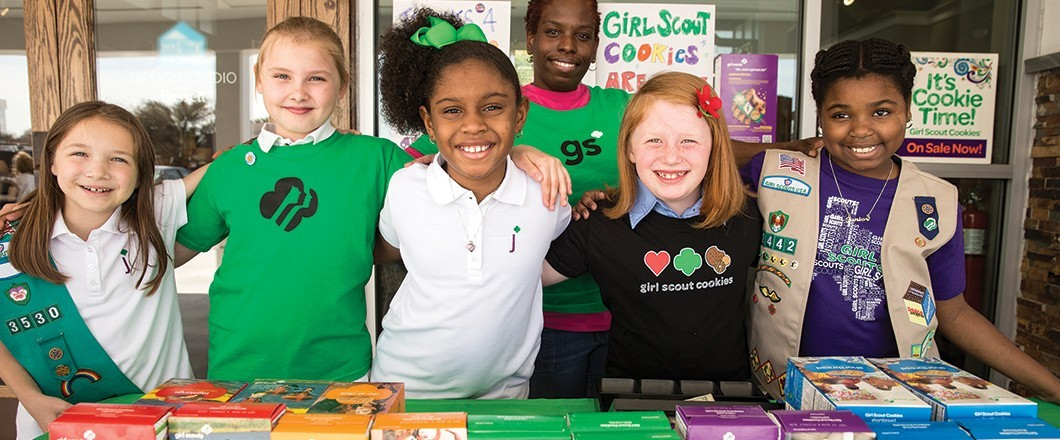 Girl Scouts learn 5 essential life skills by selling the iconic Girl Scout cookies