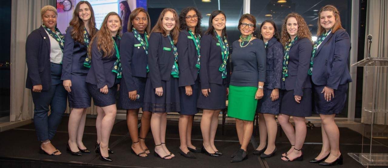 National Gold Award Girl Scouts - 2018