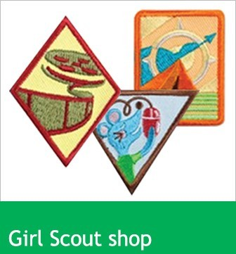 Explore badges at the Girl Scout Shop