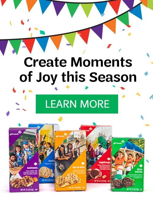 Cookies are coming! Create Moments of Joy this Season. LEARN MORE