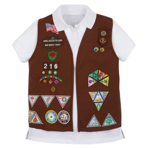 Awards and Badges - Girl Scouts