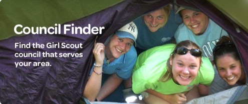 Girl Scout Council Finder