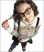 Photo of a tween girl.