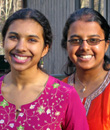 Photo of Amrita and Shrutika.