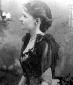 Photo of Juliette Gordon Low, circa 1887. © GSUSA. All rights reserved.