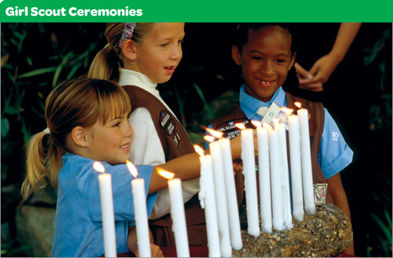 Girl Scout Ceremonies