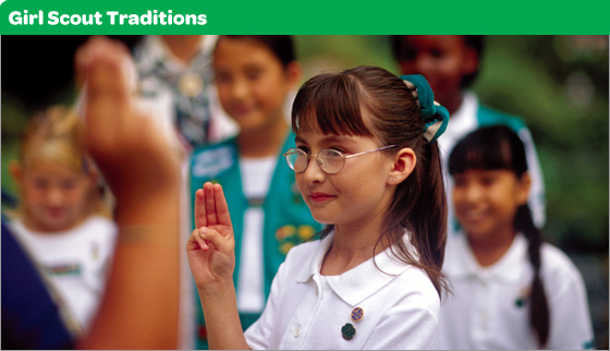 Girl Scout Traditions