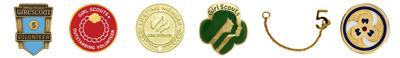 Girl Scout insignia. © GSUSA. All rights reserved.