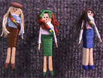 Photo of various Girl Scout swaps pins. © GSUSA. All rights reserved.